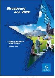 Feuille de route stratégique – Strasbourg Eco 2020 ... - CRES Alsace