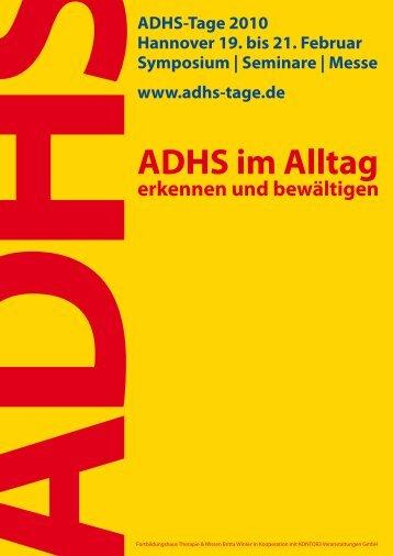 ADHS im Alltag - Ergotherapie Britta Winter