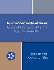 ASBD Sponsorship Prospectus 2011/2012 - American Society of ...
