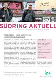 schulreform - unser sommerthema - Leben mit Behinderung Hamburg