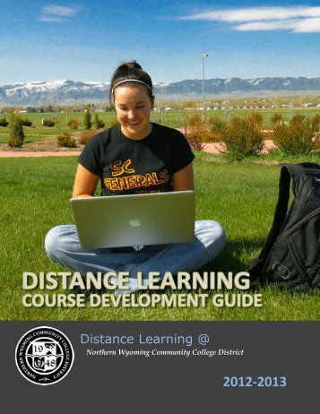 Distance Learning Course Development Guide - Sheridan College