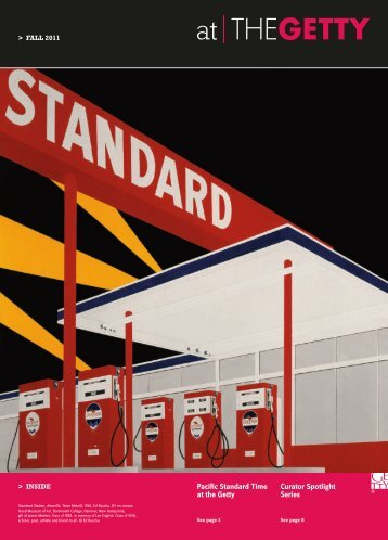 Pacific Standard Time at the Getty Curator Spotlight Series