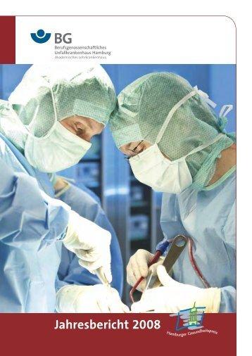 Jahresbericht 2008 - 2 MB - Berufsgenossenschaftliches ...