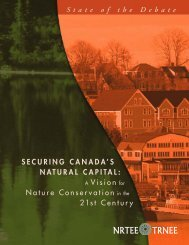 Securing Canada's Natural Capital: A Vision for Nature ... - NEIA