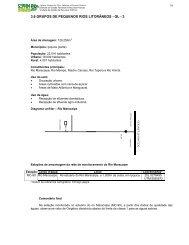 3.6 GRUPOS DE PEQUENOS RIOS LITORÂNEOS - GL - 3 - CPRH