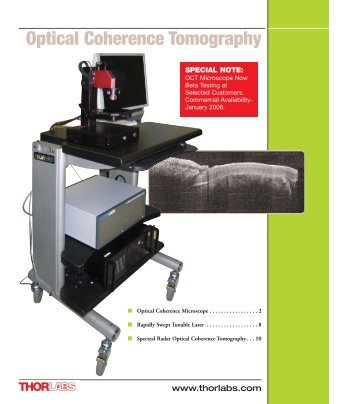 Optical Coherence Tomography - Thorlabs