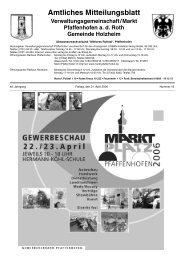Woche 16 - 2006 - Markt Pfaffenhofen