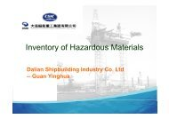 Inventory of Hazardous Materials