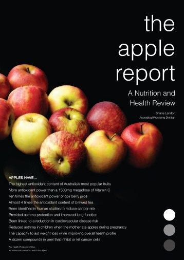 The Apple Report - Batlow Apples