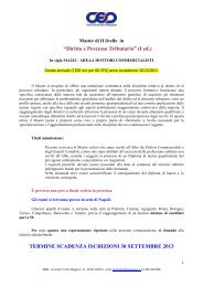 Scheda presentazione - Cesd-onlus.com