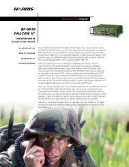 RF-6010 FALCON II® - Harris Corporation