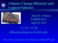 Global Warming and Climate Change - Iris-Passcal