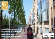 Kaderplan Ontwikkeling Bestaande Stad Almere Meer doen ... - Stipo