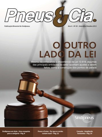 Revista Pneus e Cia nº29 - Sindipneus