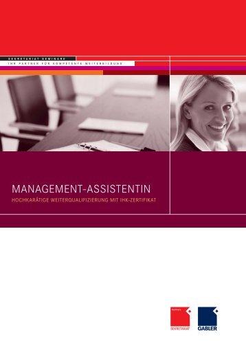 Management Flyer 2010_10.indd - OFFICE SEMINARE