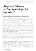 """hinweis """"Angst und Scham - zur Psychopathologie der Gegenwart"""" - Seite 5"""