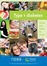 Type 1 diabetes What you need to know - Diabetes Queensland