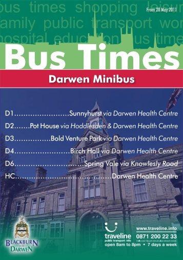 Darwen Minibus - Blackburn with Darwen Borough Council