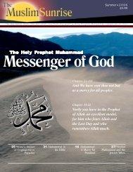 2006, II - The Muslim Sunrise