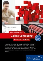 tBeans Platform 7 - Galileo Computing