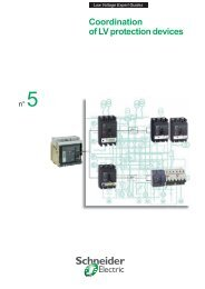 Coordination of LV protection devices - Schneider Electric