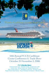 2006 Conference Flyer - The Florida-Caribbean Cruise Association