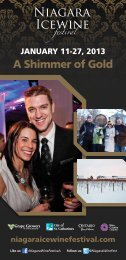 Program Download - Niagara Wine Festival