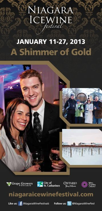 Program Download - Niagara Wine Festival