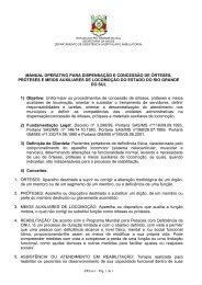 manual operativo para dispensação e concessão de ... - Faders