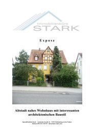 E x p o s e Altstadt nahes Wohnhaus mit interessanten ... - Immo-Stark