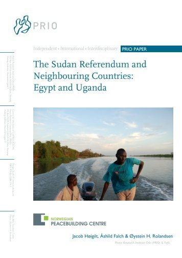 The Sudan Referendum and Neighbouring Countries: Egypt ... - PRIO