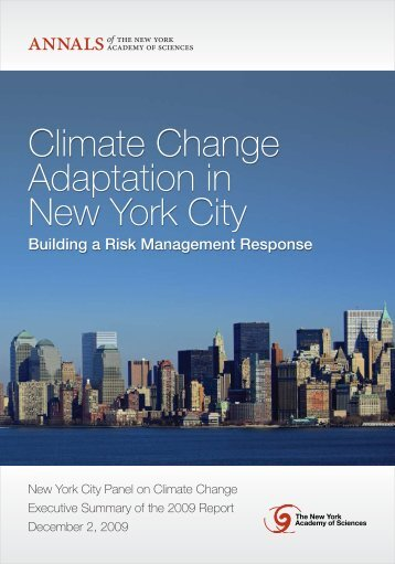Climate Change Adaptation in New York City - Environmental ...