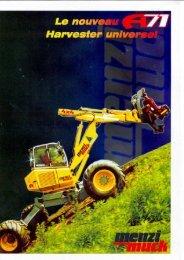 Menzi Muck A71 and A91 - Unusuallocomotion.com