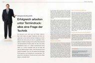 Erfolgreich arbeiten unter Termindruck - Pci-Augsburg Gmbh