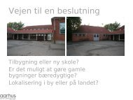 Bæredygtige bygninger - Forstanderkredsen