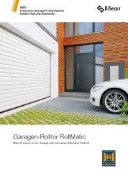 Garagen-Rolltor RollMatic - Hörmann KG