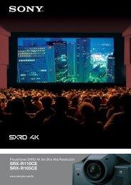 SRX-R110CE SRX-R105CE - que Video