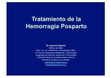 Tratamiento de la Hemorragia Posparto - IGBA