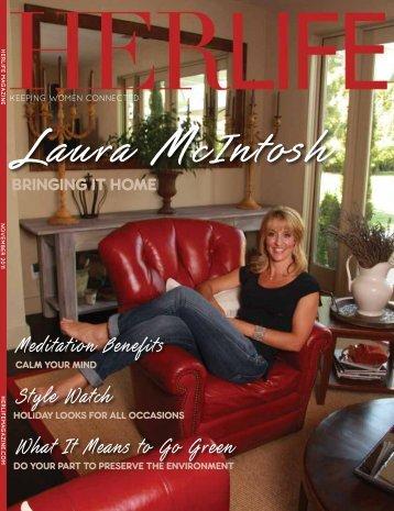 Laura McIntosh - HER LIFE Magazine