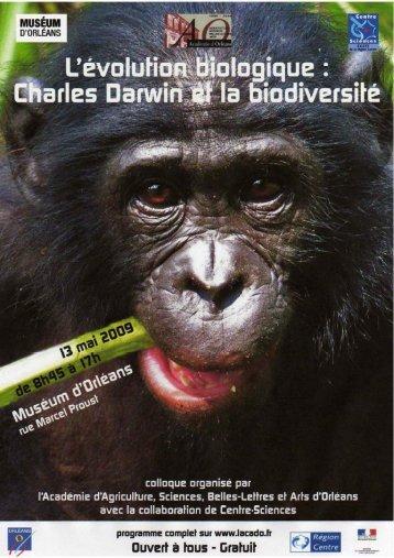 C. Darwin et la biodiversité - Académie d'Orléans