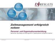 Zeitmanagement erfolgreich nutzen - Vortragsfolien.de