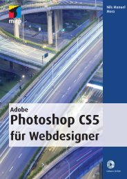 Adobe Photoshop CS5 für Webdesigner : Kapitel 1 - Mitp