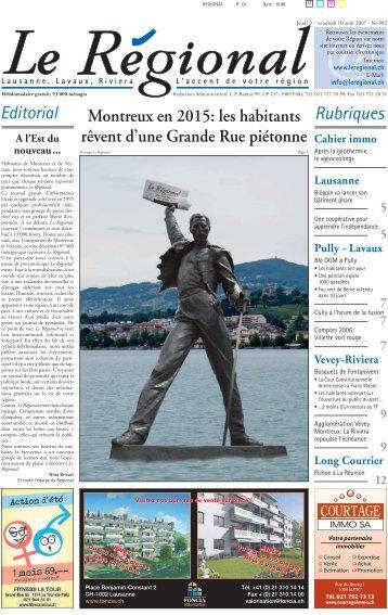 Editorial Rubriques