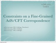Constraints on a fine-grained AdS/CFT correspondence