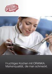 Fruchtiges Kochen mit ORANKA. (Leseprobe) - Wolfgang Jobmann ...