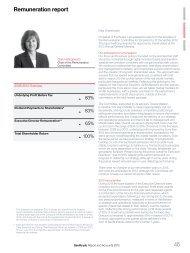 Remuneration report 45 - Savills