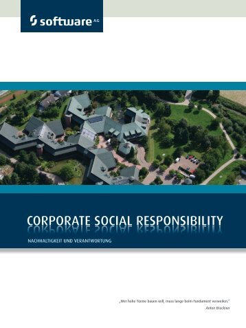 6.Good Corporate Citizenship - Software AG