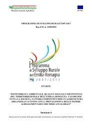 Programma regionale di sviluppo rurale - Parte 2 - Fondi Europei ...
