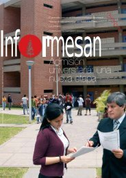 Admisión universitaria: una nueva etapa - Esan