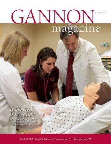 A Dose of Innovation - Gannon University